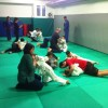 Judo, una lezione tra genitori e figli
