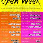 Open week, una settimana di sport per tutti