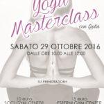 Yoga, arriva la masterclass!
