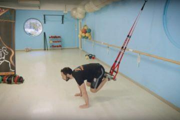 GAG al Trx, allenamento funzionale del Gym Center- lezione 5