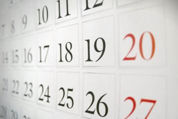 Calendario Danza e Balli