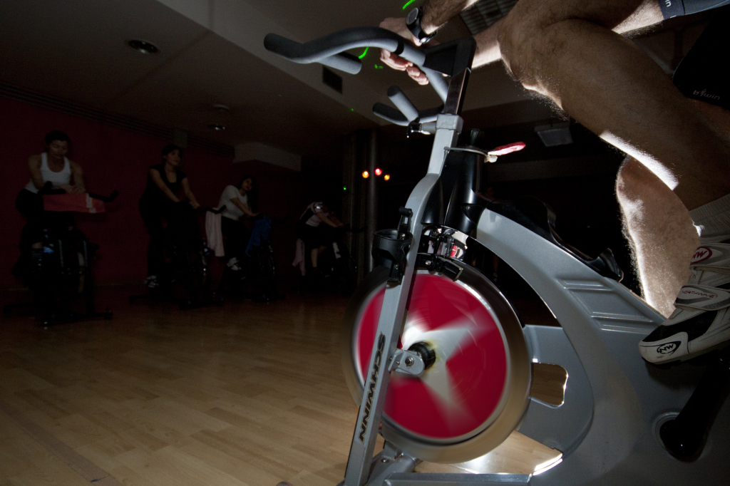 spinning bike program