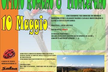 Mountain bike Oriolo Romano e Canale Monterano