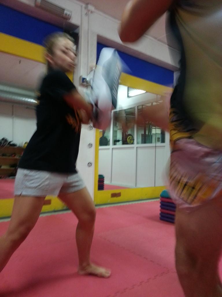 Muay thai athletis