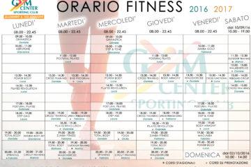 Nuova stagione di fitness e benessere