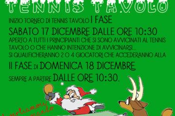Torneo Tennis Tavolo Natale 2016