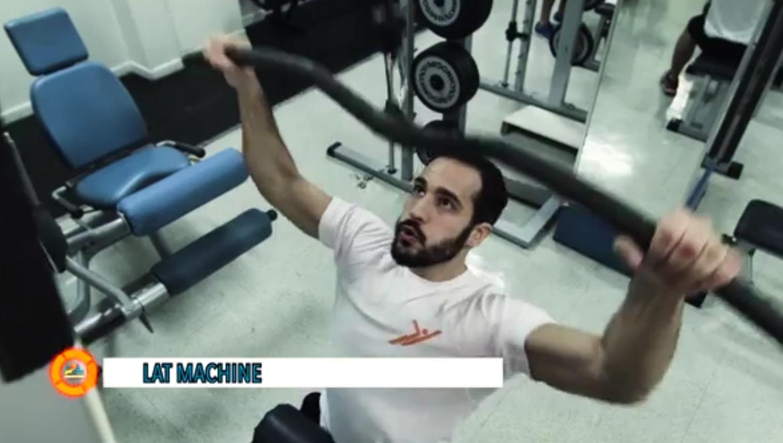 Esercizi Dorsali del Gym Center sporting club, Lat Machine - lezione 1