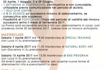Aprile newsletter