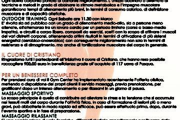 Maggio, la newsletter