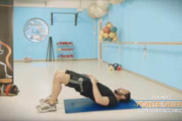 Esercizi Gambe Addominali e Glutei del Gym Center- lezione 4