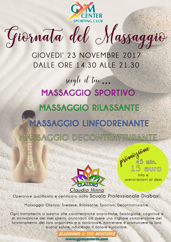 giornata del massaggio