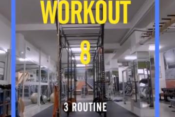 Cross Trainig Workout 8