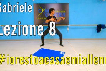Allenamento a Casa – Pilates con Gabriele lezione 8