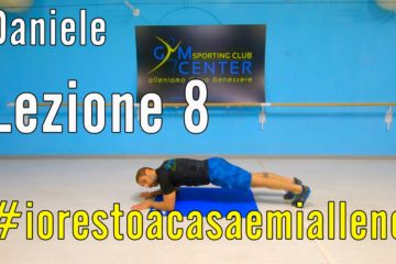 Allenamento a Casa – Cross Training con Daniele 8, aerobico anaerobico di braccia gambe ed addome