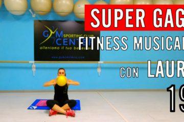 Lezione 19 di Fitness musicale CARDIO E GAG con Laura