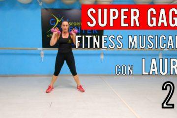Lezione di Fitness musicale CARDIO, GAG E TONIFICAZIONE con Laura numero 22