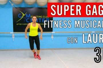 Lezione numero 30 di Fitness musicale CARDIO E GAG con Laura 30