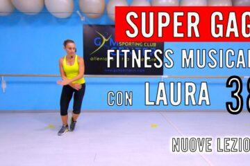 Fitness Musicale gag con Laura lezione 38