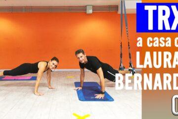 Allenamento con TRX + GAG Con Laura e Bernardo. Lezione 3