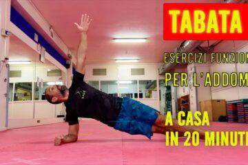 TABATA 4 – Esercizi Funzionali per l'addome