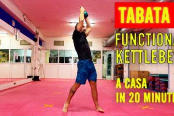Esercizi Funzionali con Kettlebell TABATA lezione 5
