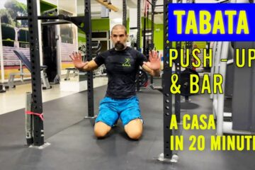 TABATA Lezione  6 PUSH UP AND BAR