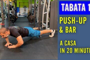Push Up & Bar – Tabata lezione 11 con Daniele