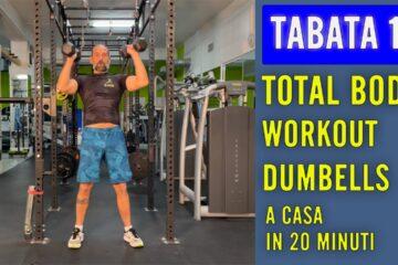 Total Body Workout – Tabata Con Daniele lezione 12