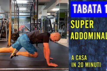 SUPER ADDOMINALI – TABATA 13 con Daniele