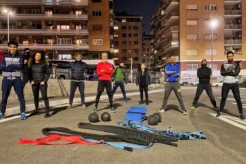 Il Lazio si colora di rossa ma le nostre lezioni tornano online su HomeFitness