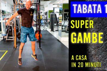 SUPER GAMBE – Tabata 15 con Daniele