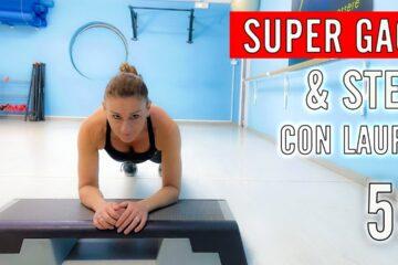 SUPER GAG & STEP! Fitness Musicale con Laura lezione 59