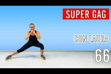 SUPER GAG! Fitness Musicale con Laura lezione 66