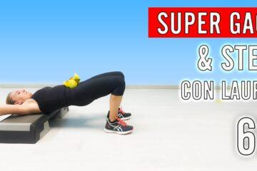 SUPER GAG & STEP con Laura Lezione 69